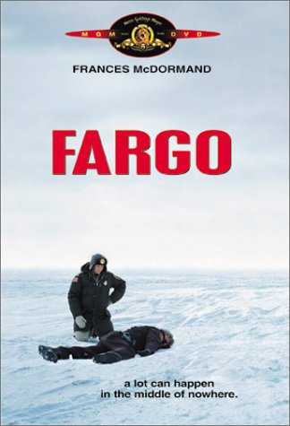 The VHS cover of the movie Fargo.