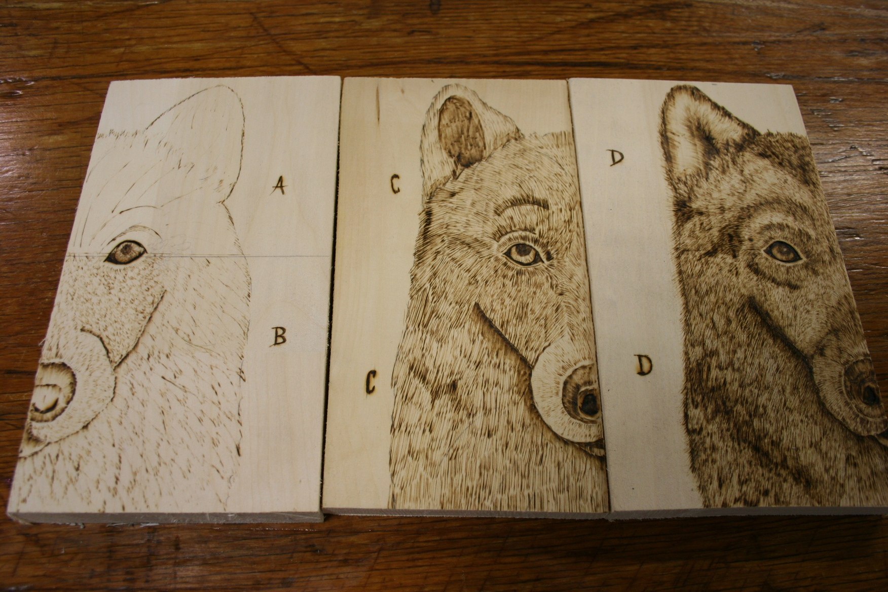Woodburning Minnesota Prairie Roots