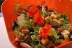 Dinner, salad