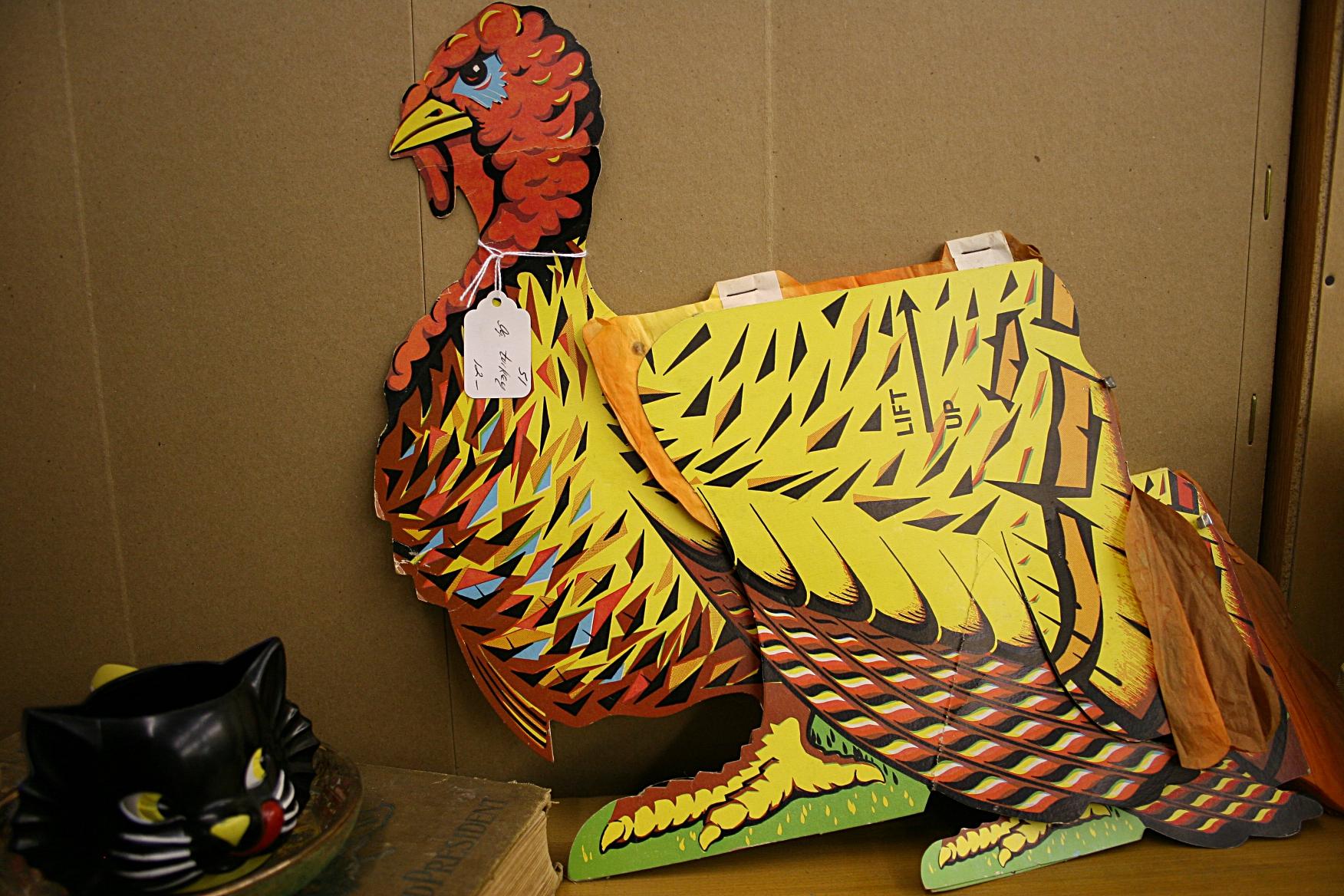 Decorate Turkey Drawing a Vintage Turkey Decoration