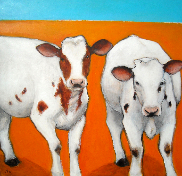 The vibrant art of Faribault artist Julie Falker of JMF Studio.