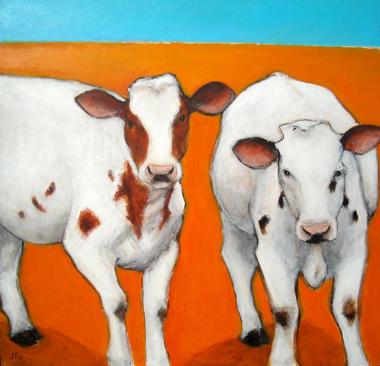 The vibrant art of Faribault artist Julie Falker of JMF Studio.