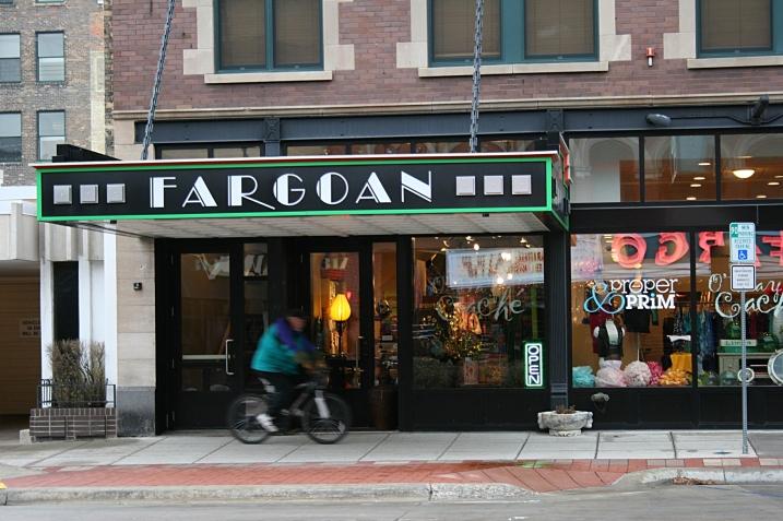 A scene from November in downtown Fargo.