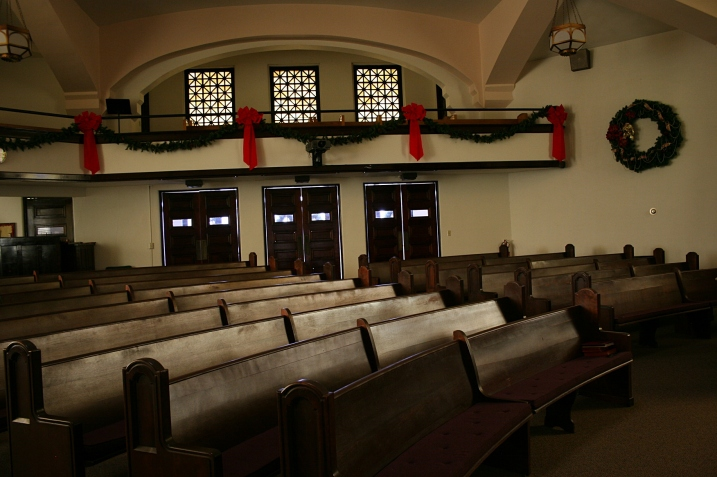Another view of the sanctuary.
