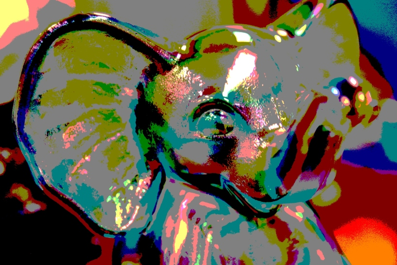 Ta-da, the posterized elephant.