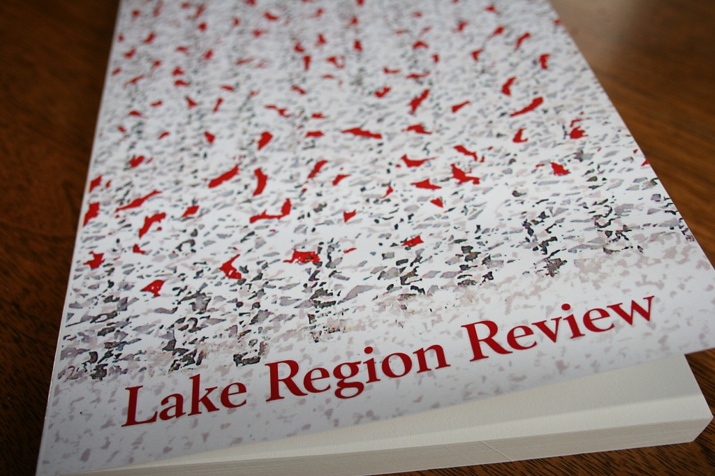 Lake Region Review, volume two, with cover art by  Charles Beck