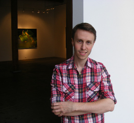 Illustrator Andrew Holmquist, a Northfield native now living and working as an artist in Chicago.