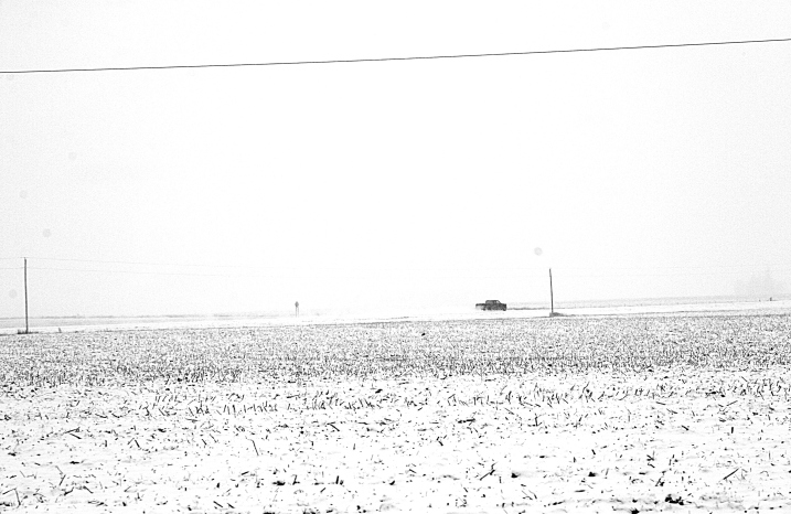 The unassuming beauty of the southwestern Minnesota prairie in the winter of 2012.