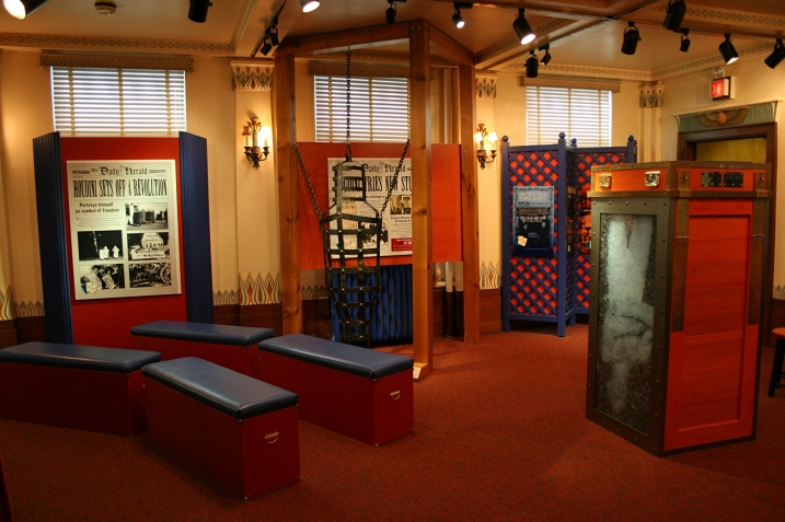A snippet of the Houdini exhibit.