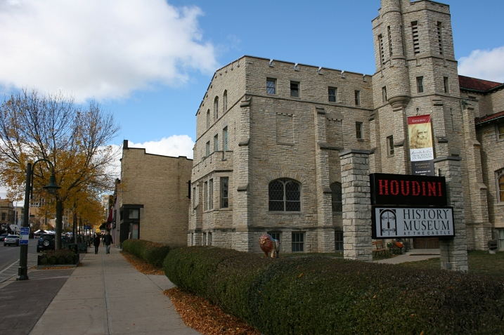The History Museum at the Castle, home to the Houdini and other exhibits.