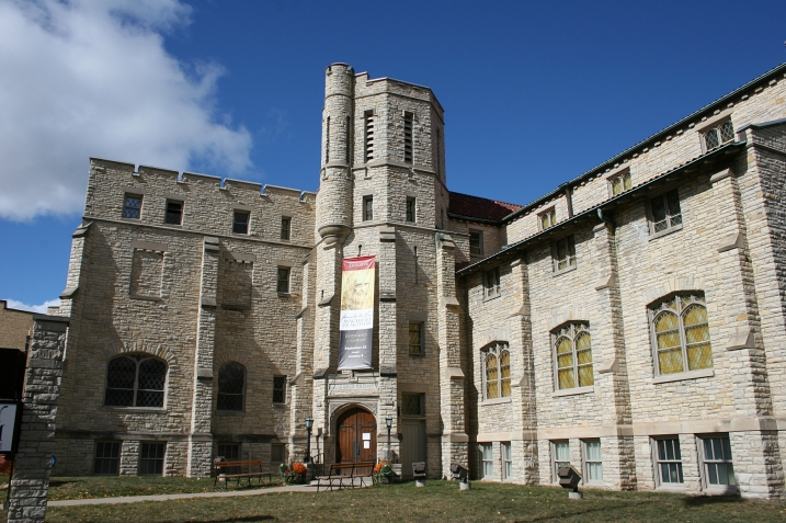 Another view of the historic museum.
