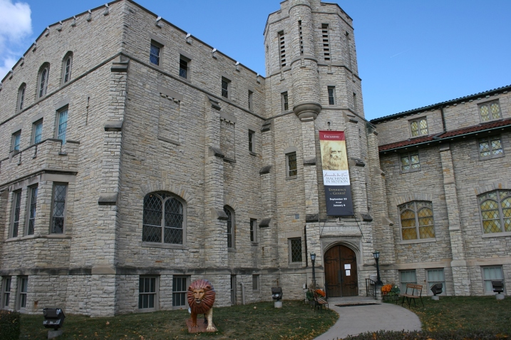 The History Museum at the Castle, 330 E. College Ave., Appleton, Wisconsin.