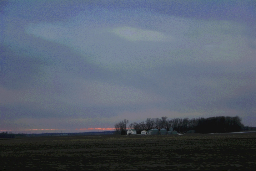 Even in southeastern Minnesota, where I've lived for three decades, expanses of prairie exist like this sunset scene.