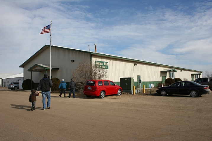 Johnson Hall, site of Louies' Toy Box Farm Toy Show.