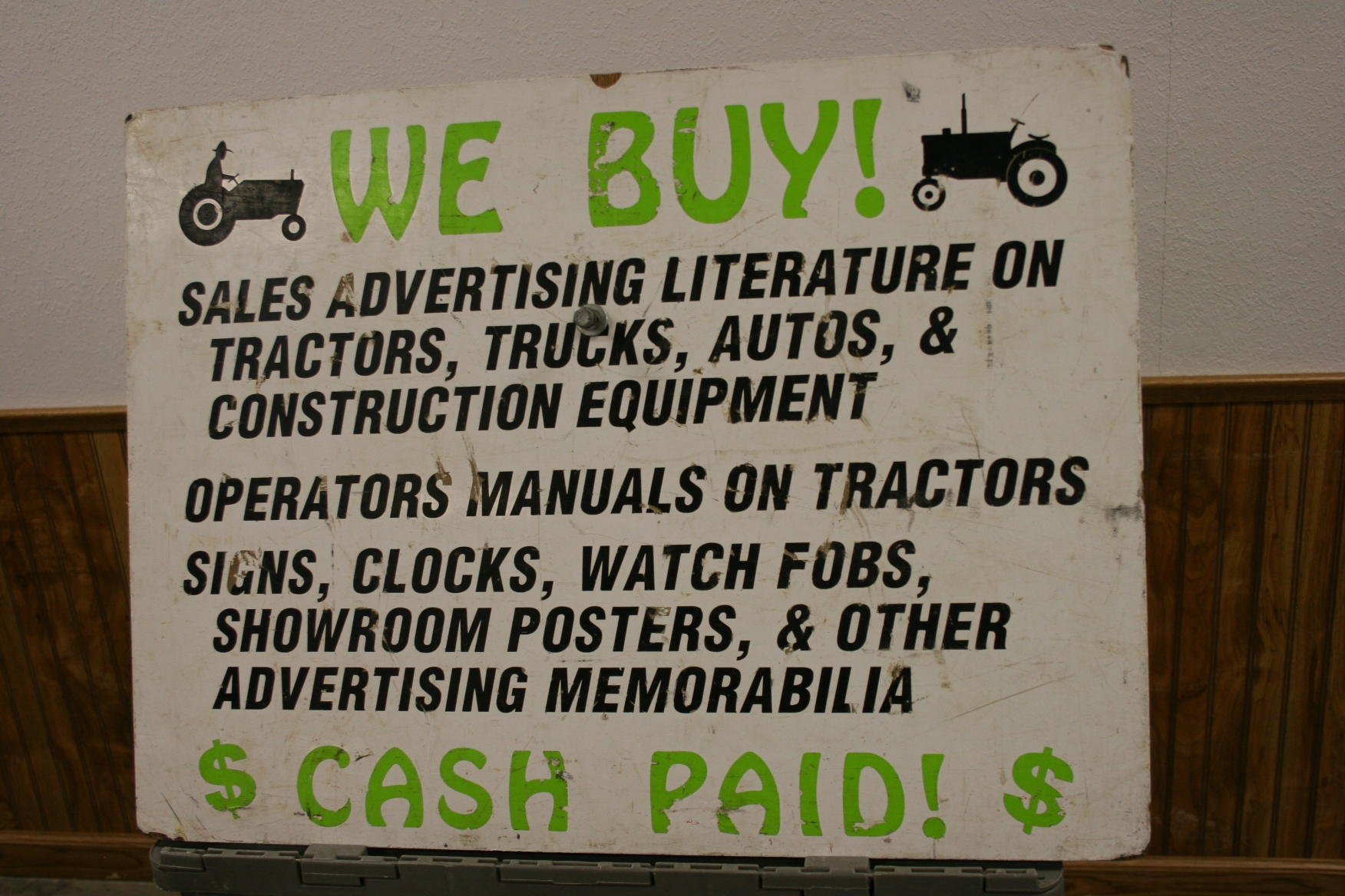 Toys, sign