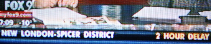 More school closings on another Minnesota TV station.