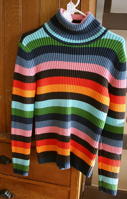 The sweater similar to one I wore in the 70s.