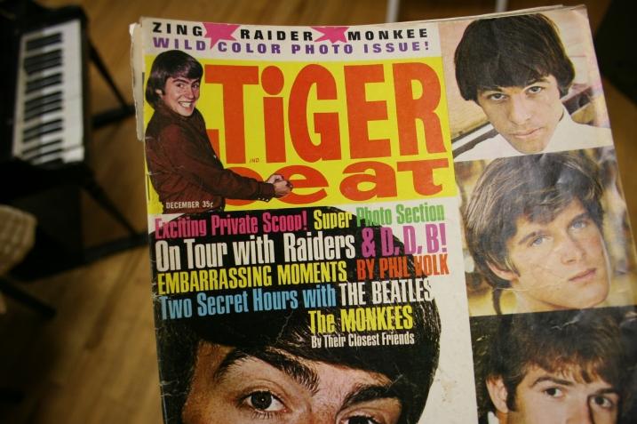 My beloved Tiger Beat magazine.