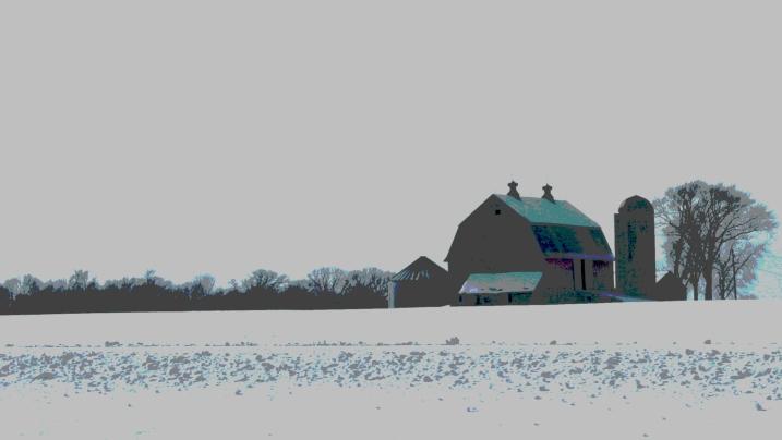 Barn along I35