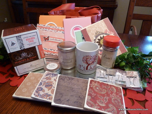 Wouldn't you like to win these goodies from Beth Ann?