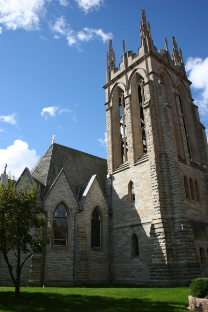 The historic Cathedral of Our Merciful Saviour in Faribault. File photo.