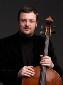 Cellist Dmitry Kouzov