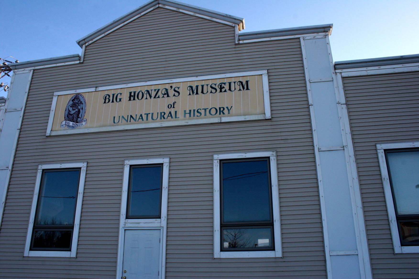 Big Honza's Museum of Unnatural History.
