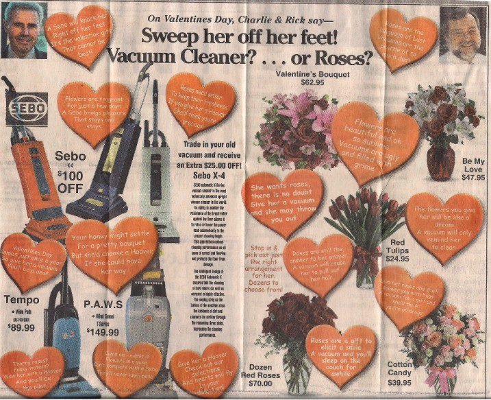 Valentine's Day ad 2013