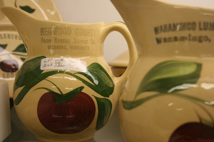 The Watt ware pitcher from Wabasso which we purchased on behalf of extended family.