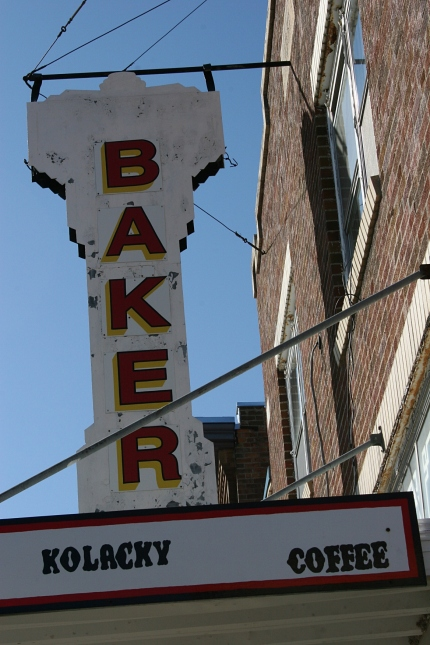 You can't miss the sign marking Franke's Bakery, a family-owned business in Montgomery for 99 years.