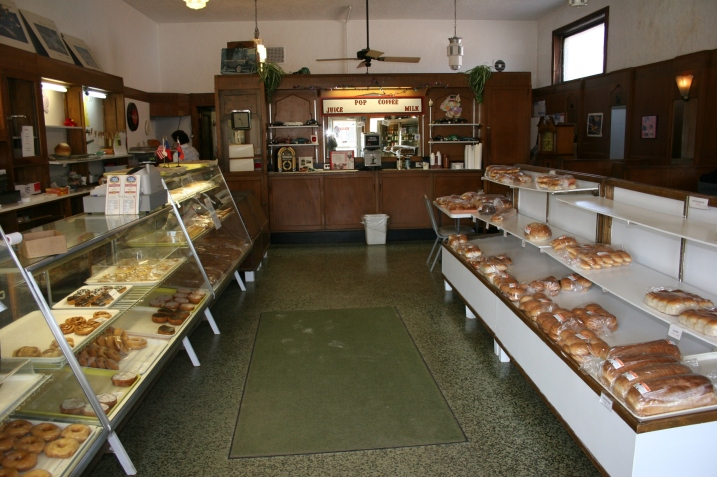 The bakery retains the charm of yesteryear.