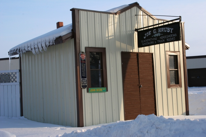 """Another """"blacksmith shop"""" across town."""