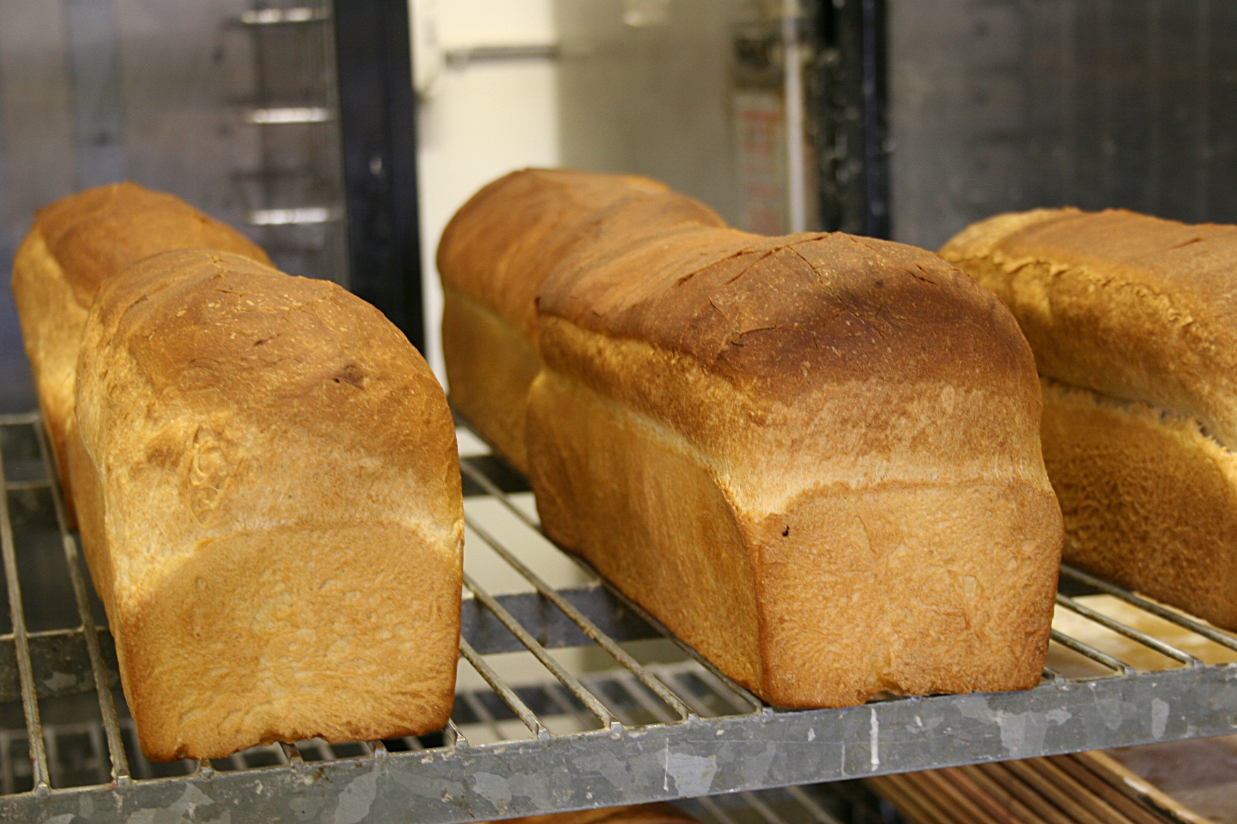 A selection of Franke's Bakery bread.