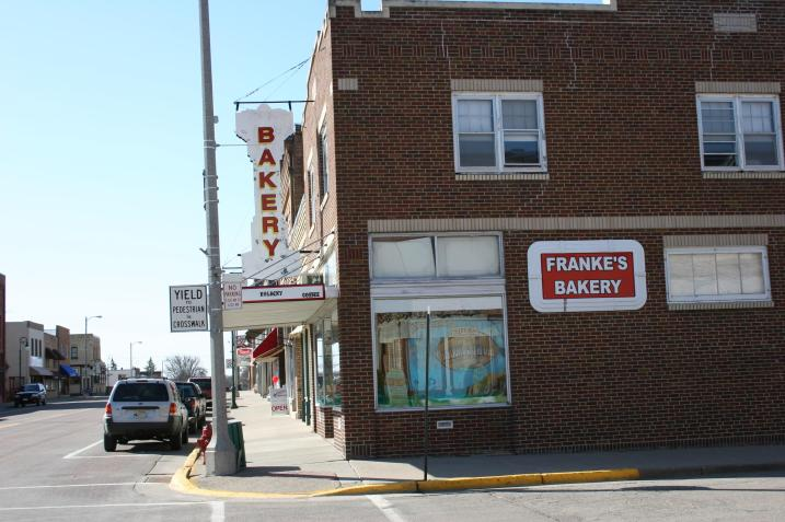 Franke's Bakery. Minnesota Prairie Roots file photo.