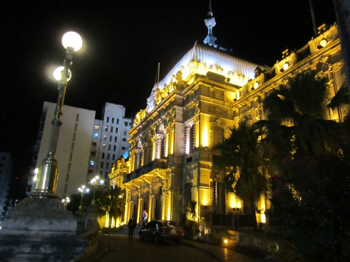 Casa del Gobierno (House of Government) in San Miguel de Tucuman.