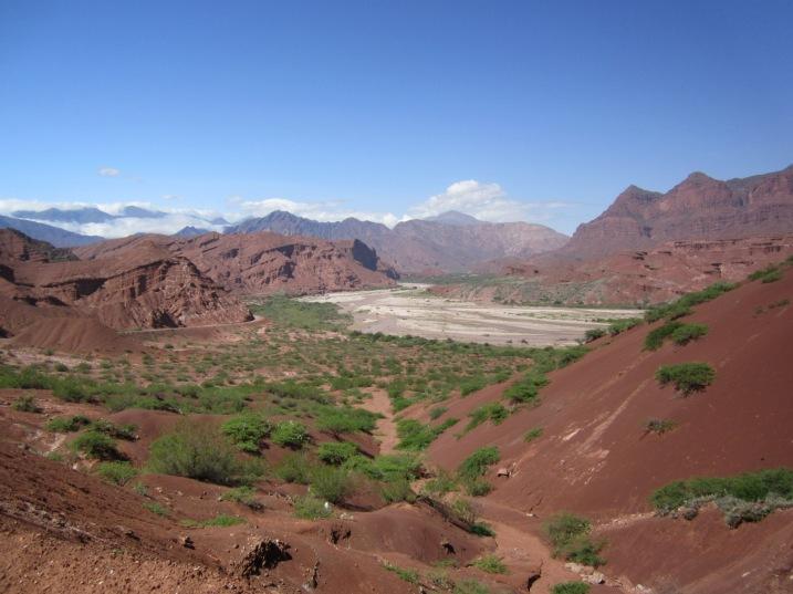 El Mirador (Lookout), Valles Calchaquies, Salta.
