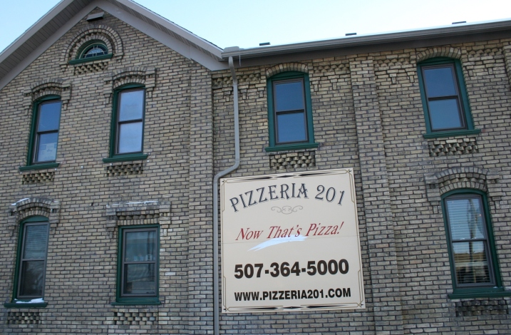 On the National Register of Historic Places, the historic Westerman Lumber Company office and house is home to Pizzeria 201. The restaurant makes homemade pizzas, a wide selection of Italian foods and more.