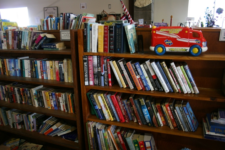 Bernadette offers a great selection of used books for all ages.