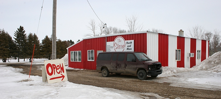 The Store: Thrift and More sits just off Minnesota Highway 19 in Vesta in Redwood County.