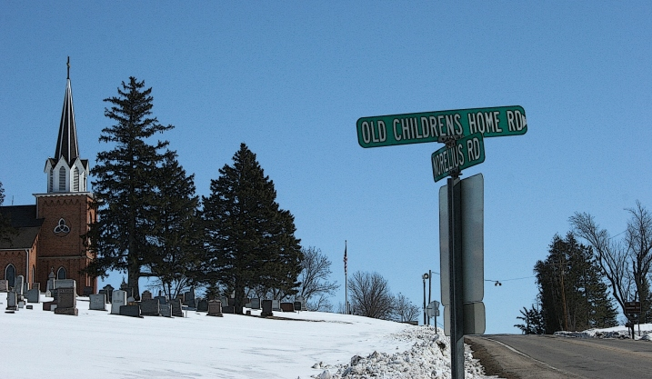 This street sign led me to investigate and learn about the Vasa Children's Home.
