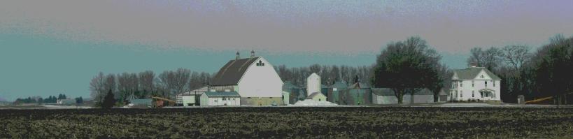 A rural scene along U.S. Highway 14 near Nicollet.