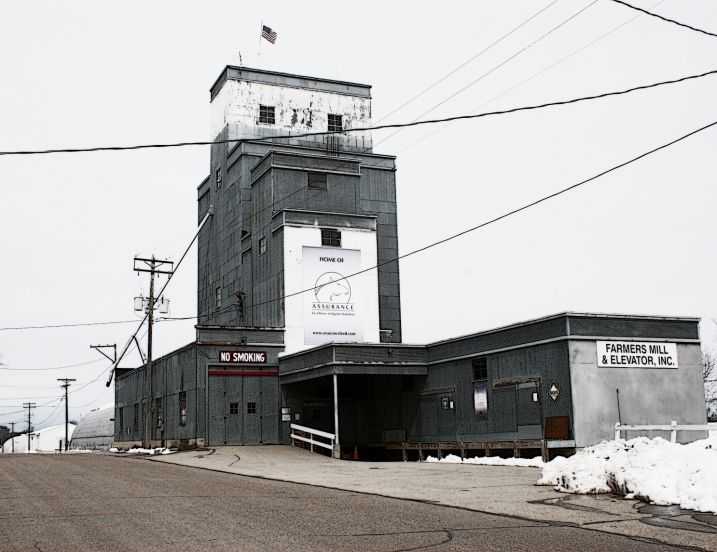 Farmers Mill and Elevator, Inc., Castle Rock, family-owned for 70 years by third generation.