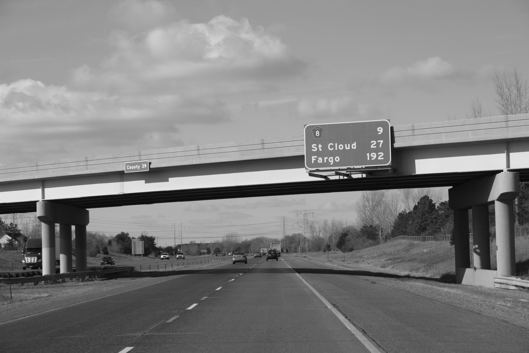 Traveling Interstate 94 on our way to Fargo with hours to go. File photo.