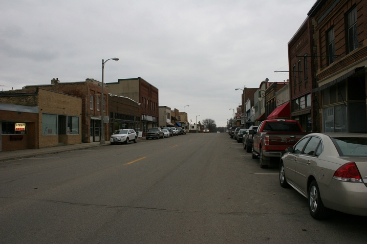 Another shot of the Main Street business district.