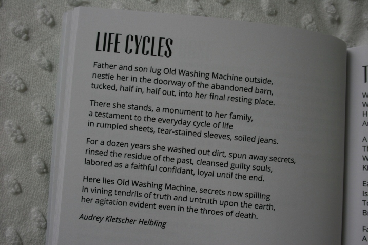 "My poem, ""Life Cycles."""