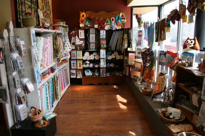 Another nook, this one at the front of the quilt shop.