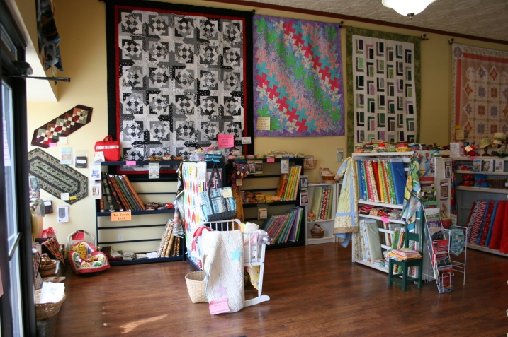 A sampling of the gorgeous quilts you'll find in Michelle's shop.