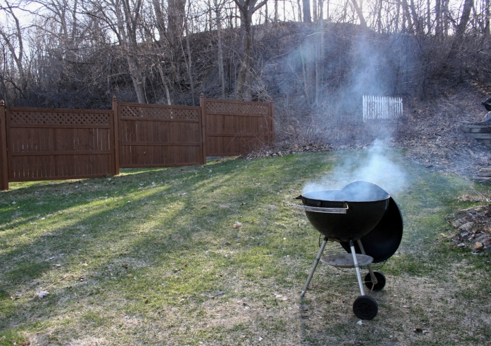 Spring, grill