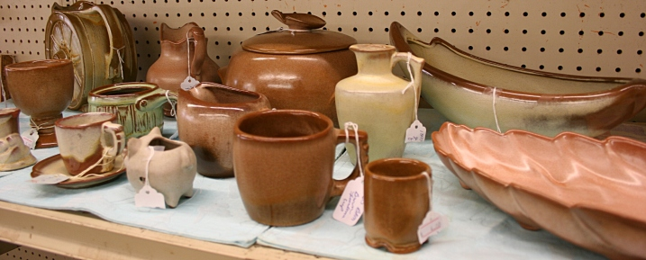 Sweet pieces of Frankoma pottery.