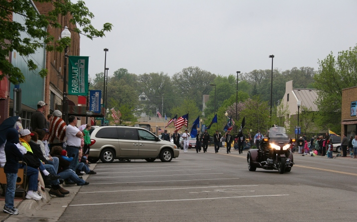 The annual Memorial Day parade, which I've attended for decades, begins along Central Avenue in Faribault.